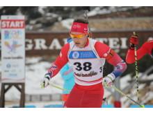 Ole Andreas Flotten, jaktstart menn junior,junior-vm 2016