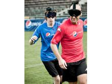 Ny teknik ger synskadade en ny fotbollsupplevelse