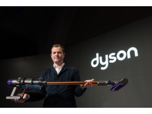 Jake Dyson, Chief Engineer, at Dyson launch event in Paris, 6 March 2018 - 3