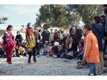 Clowner utan Gränser i Grekland