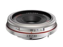 HD Pentax DA 40mm F2,8 Limited silver