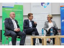 """Podiumsdiskussion """"Zukunftsbranche Luftverkehr am Standort Berlin Brandenburg"""" am 15. Oktober 2016 an der Technischen Hochschule Wildau"""