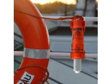 Hi-res image - ACR Electronics - The new ACR Electronics SM-3 Automatic Buoy Marker Light is a compact and durable crew-overboard LED strobe