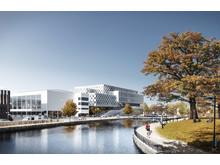Skiss över nytt campus Eskilstuna