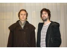 Jonas Berg och Benjamin Holmström