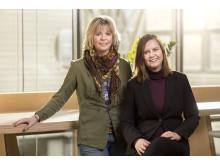 Karin Apelgren och Eva Anundi  Foto Jennifer Glans, Svartpunkt