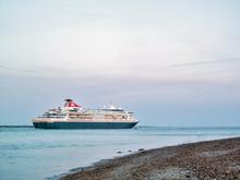 Braemar at sea