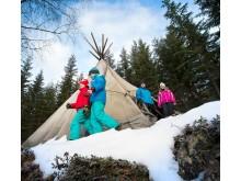 Vintercamping Värmland Foto Going North