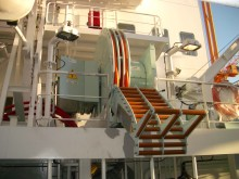 A Cavotec ship-based AMP unit