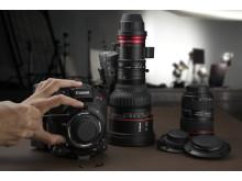 EOS C500 Mark II User Lens Mount Change
