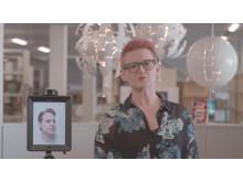 Robot ska locka lärare i ny kampanj