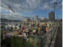 Die nordnorwegische Hafenstadt Bodø, Bewerberin um den Titel Europäische Kulturhauptstadt 2024