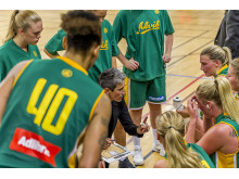Alvik Baskets coach Jurgita Kausaite