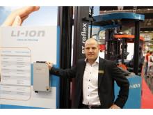 Lithium Jon teknologi hos Toyota Material Handling