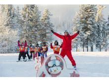 Skiskole er populært