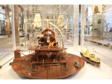 Panserskibet Herluf Trolle og kanon