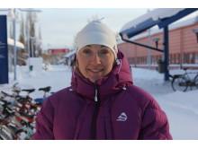 Nina Lintzén, forskare i geoteknik vid Luleå tekniska universitet