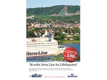 Nu seglar Stena Line från Lillehammer