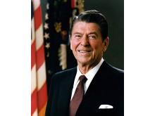 Ronald Reagan Official White House Portrait, 1981.