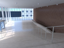 BIM Render scene - lobby