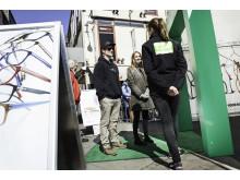 Specsavers Gratis syntest-turné utanför tältet