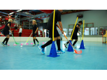 Innebandy på Mora Sports Camp