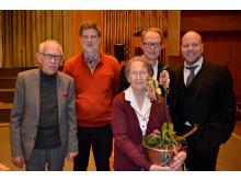 Eriks fru Ulla med generalsekreterare