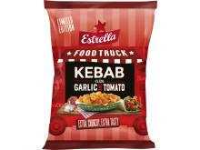 LTD Food Truck 2019 från Estrella: Kebab med vitlök och tomat