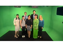 Our group of participants in our KL studio