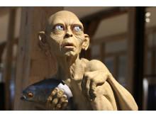 Gollum-figur tæt på