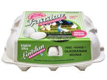 Laitilan Kanatarhan Free range - ulkokananmunat 6 kpl