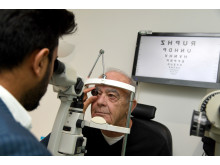 Weymouth retiree's sight saved after critical referral for retinal bleed