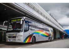 Flygbuss på Arlanda Airport