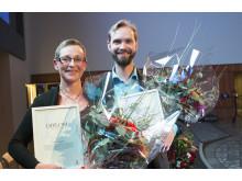 Årets alumn vid Luleå tekniska universitet, Maria Ågren, Olov Renberg