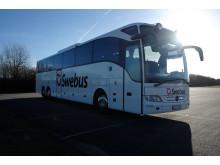 Swebus nya Mercedes Tourismo L