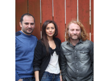 Mousa Elias, Ilona Danho & Feras Charestan