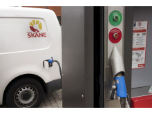 Gasbil i Region Skåne