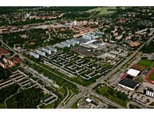 Området Fyrklövern där Väsby Labs genomförs