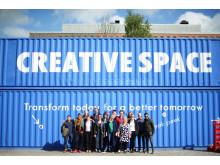 Absolut Creative Space Sustainabilty Hackathon participants