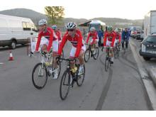 Erlend Blikra før start sykkel-VM 2014
