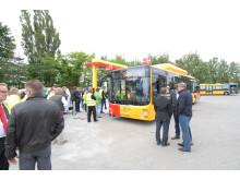 Der var stort fremmøde, da det nye gasanlæg ved Arrivas garageanlæg i Gladsaxe blev indviet.