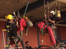 Swedish ropen, delmomentet pick off rescue