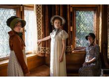Sy kläder i tidigt 1800-tals mode