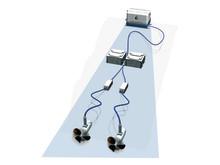 A Fischer Panda electric drive system