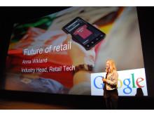 Anna Wikland, Google, på Retail Breakfast Club 20 mars 2015