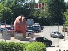 Lysbueovnen er et monument over et industrieventyr