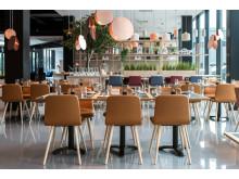 Brasserie X, restauranten på Quality Hotel Pond, er klar til å ta imot gjester.