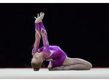 EM 2018 artistisk gymnastik Jessica Castles