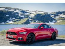 Endelig har nye Ford Mustang kommet til Norge