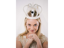 Bridal headband featuring X1000V